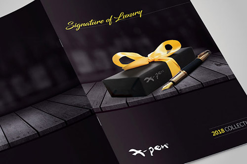 עיצוב קטלוג X-Pen